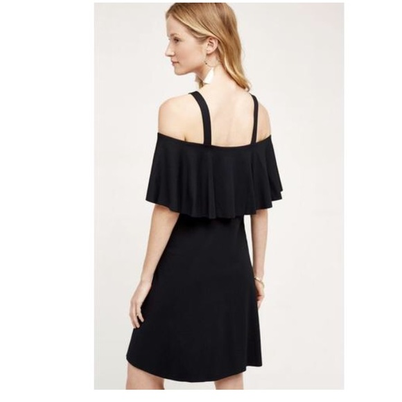 Anthropologie Dresses & Skirts - Anthro Maeve Black Off Shoulder Dress